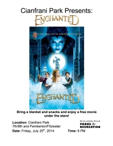Cianfrani Park Presents Enchanted Poster